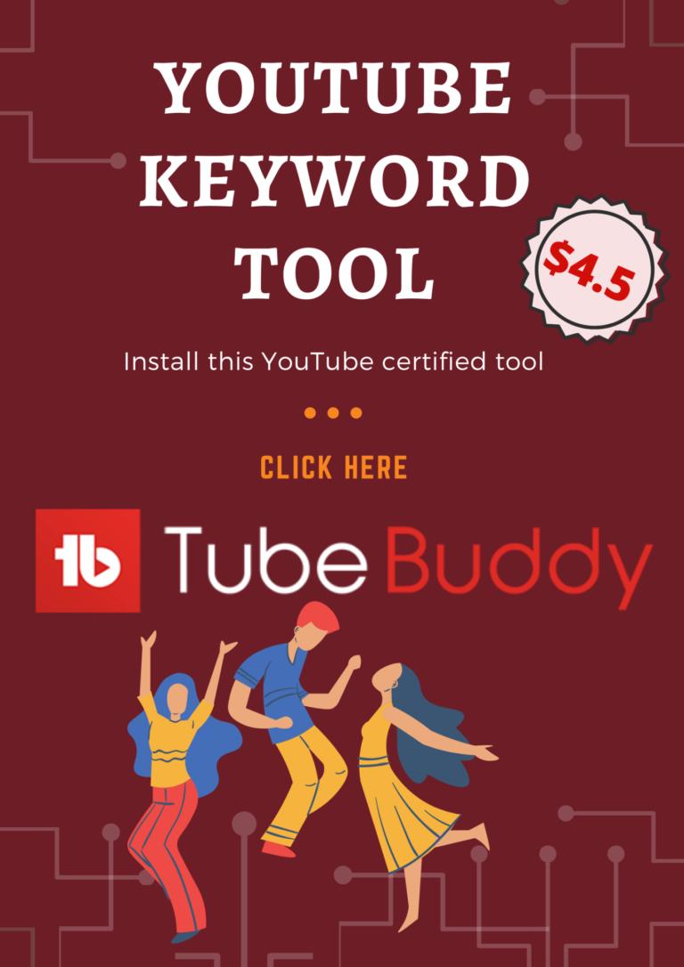 YouTube-keyword-tool-TubeBuddy-sale