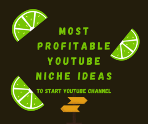 Most profitable Youtube niche ideas