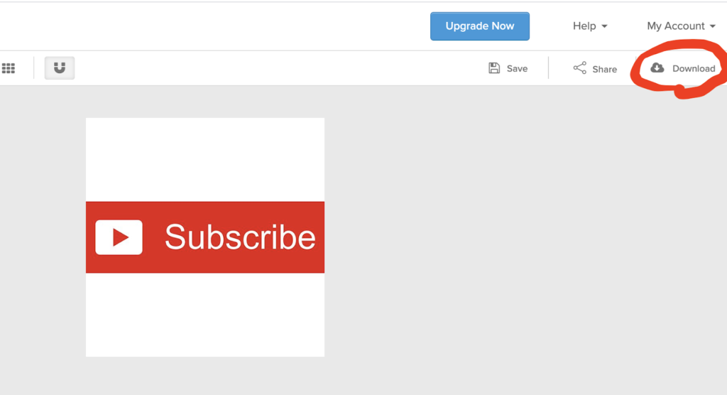 download youtube subscribe button