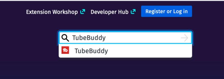 tubebuddy firefox installation