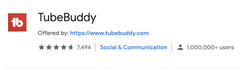 why to use TubeBuddy