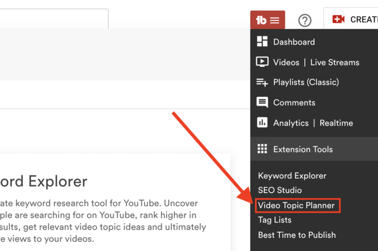 youtube video topic planner